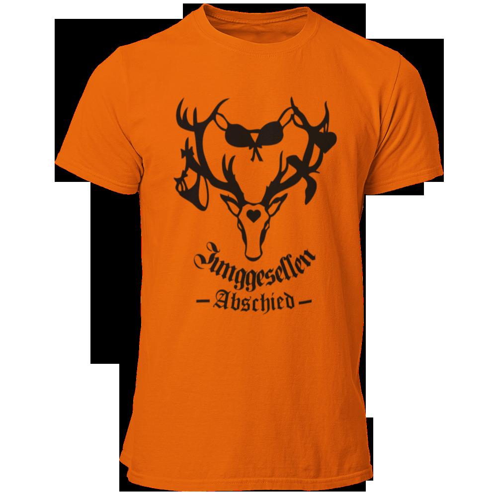 T-Shirt Junggesellenabschied Geweih