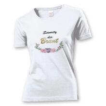T-Shirt BOHO Security der Braut
