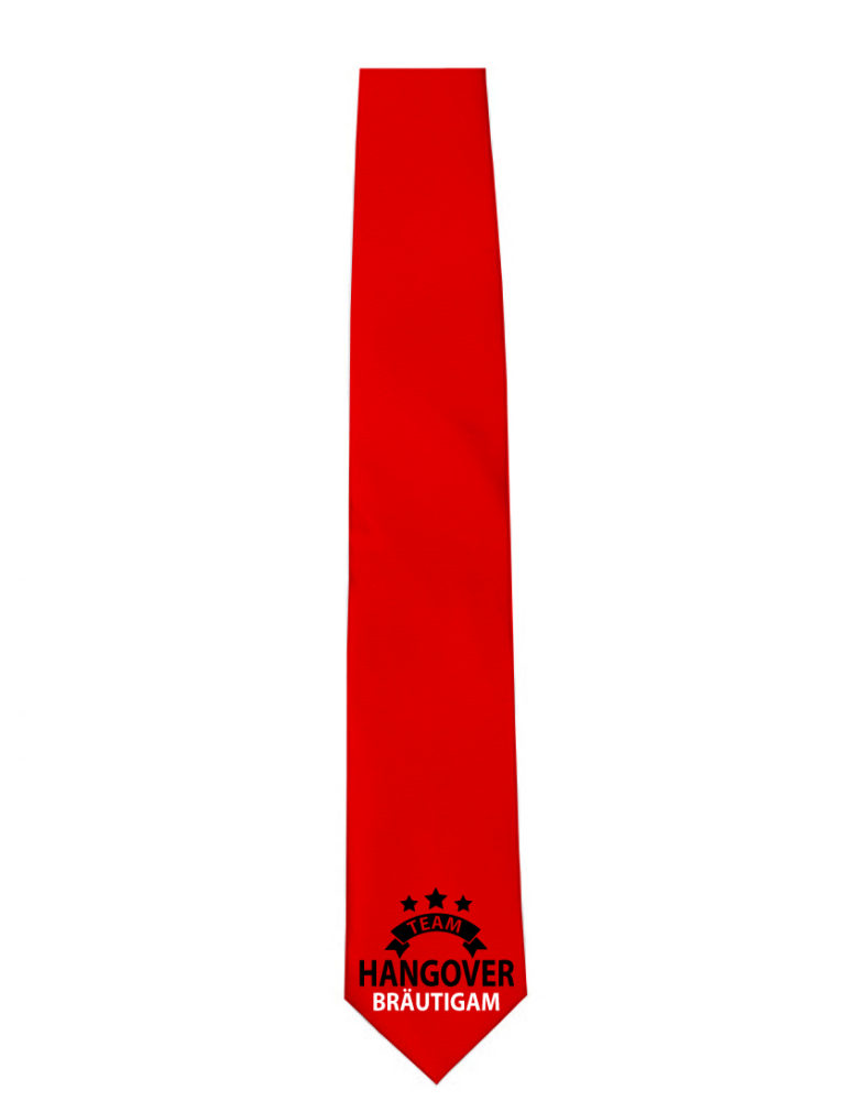 Krawatte Team Hangover Bräutigam