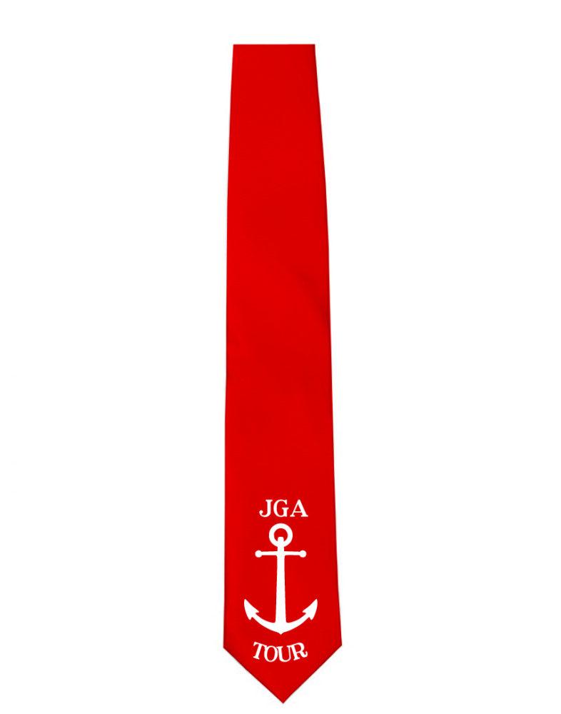 Krawatte JGA Tour Anker