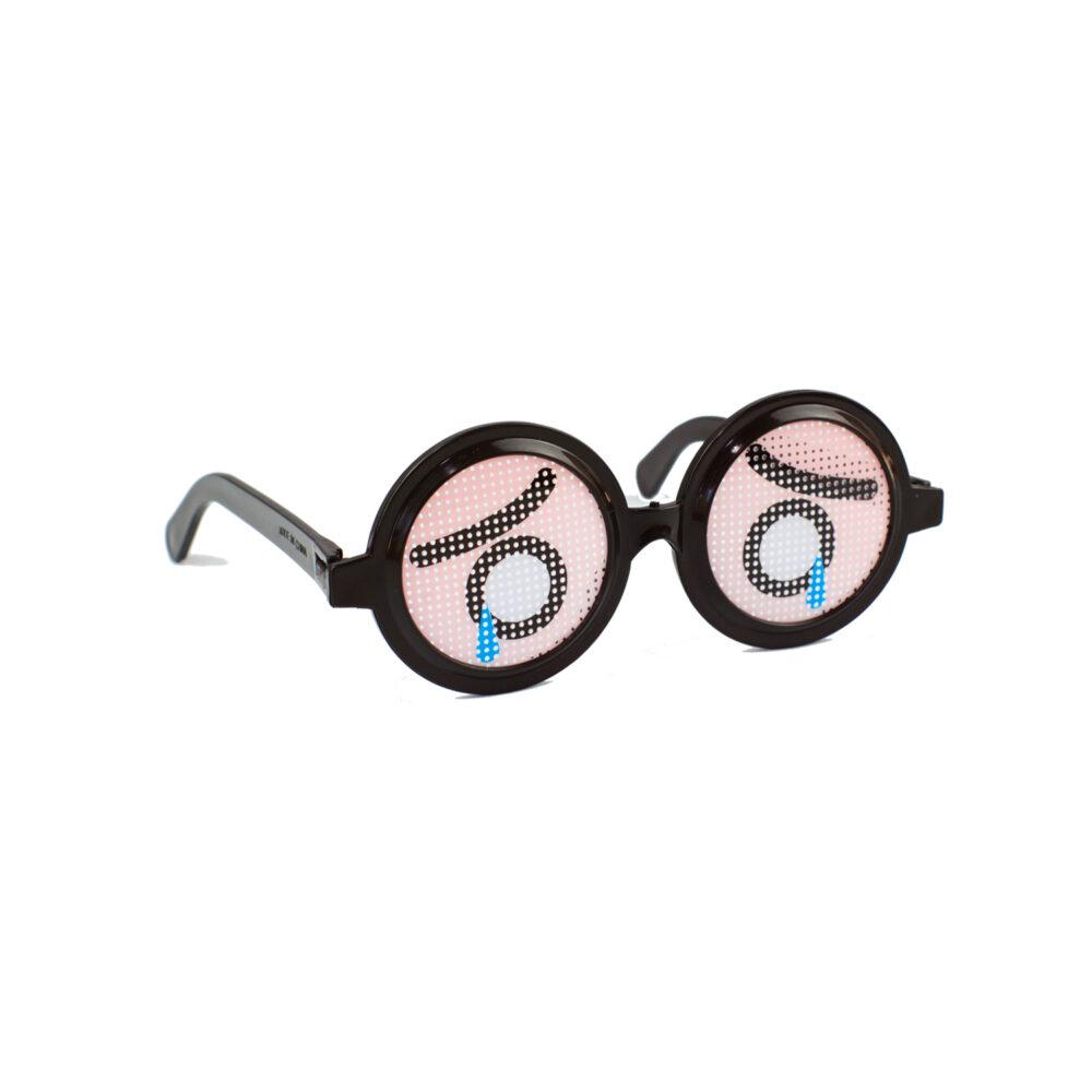 Partybrille mit Augen