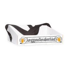 Bauchladen Bierglas Junggesellenabschied
