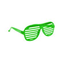 Atzenbrille neon