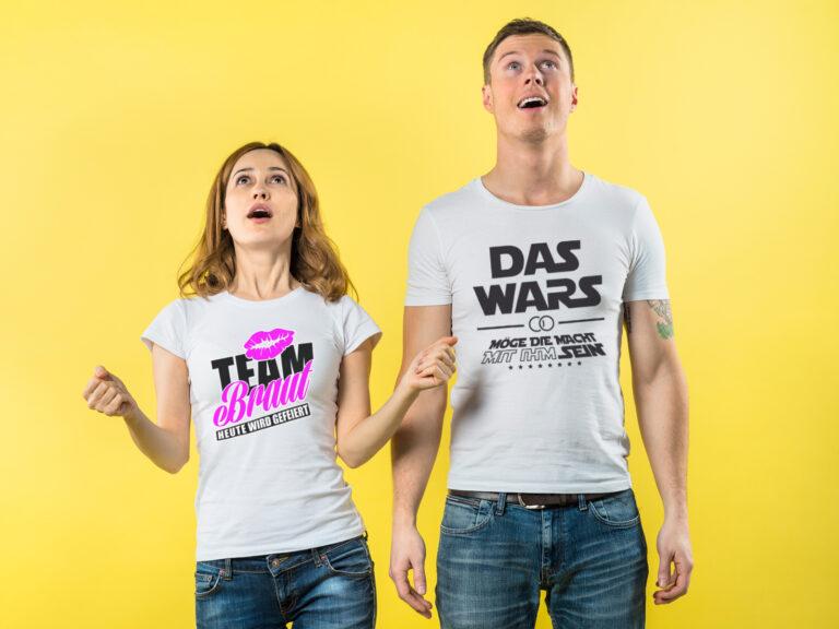 JGA T-Shirts JGA T-Shirts für Frauen und Männer JGA - JGA-King.de - 5