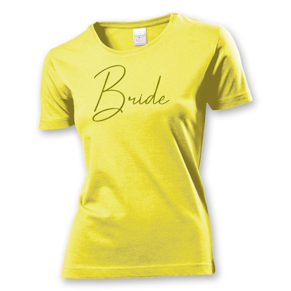 T-Shirt Bride Glamour
