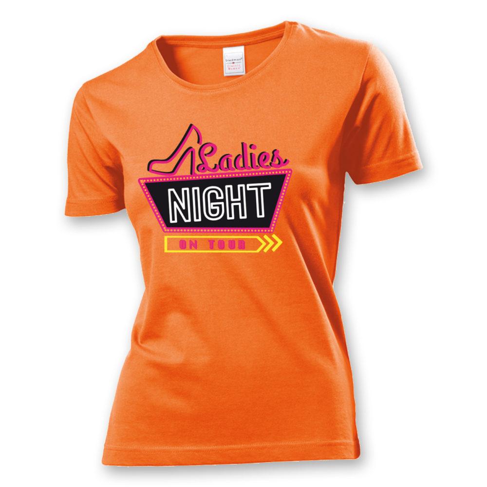 T-Shirt Ladies Night on Tour
