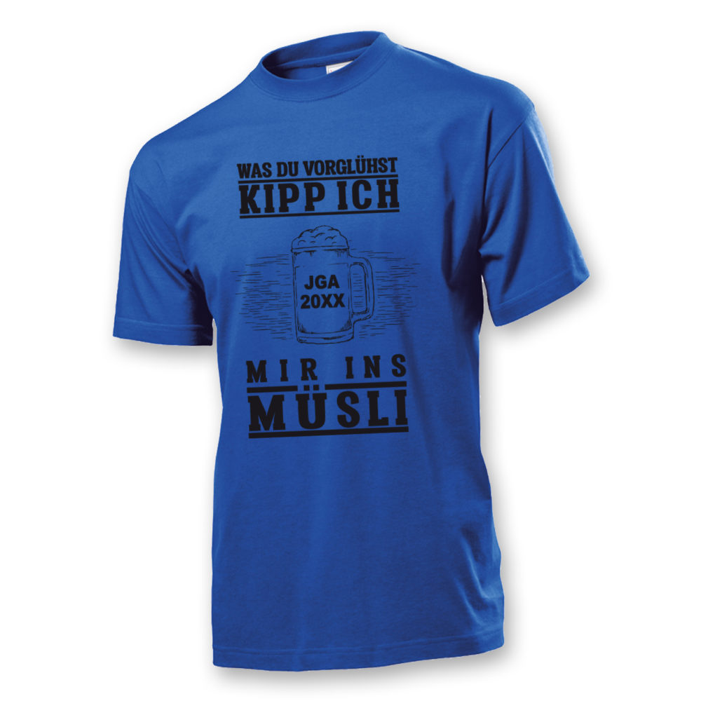 T-Shirt JGA Müsli