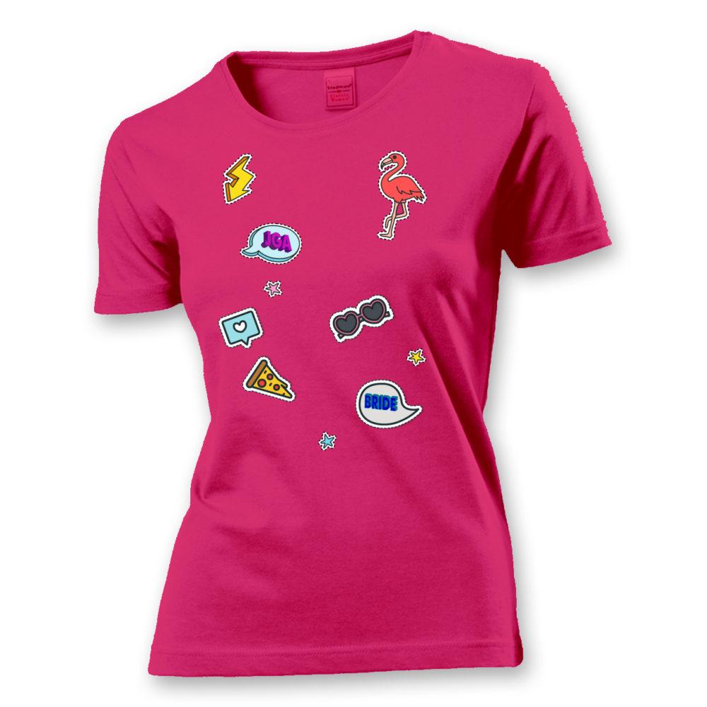 T-Shirt Patch Shirt (Braut)