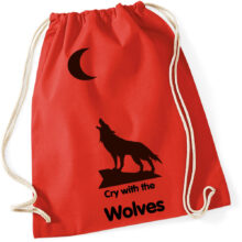 Cry with the wolves Beutel