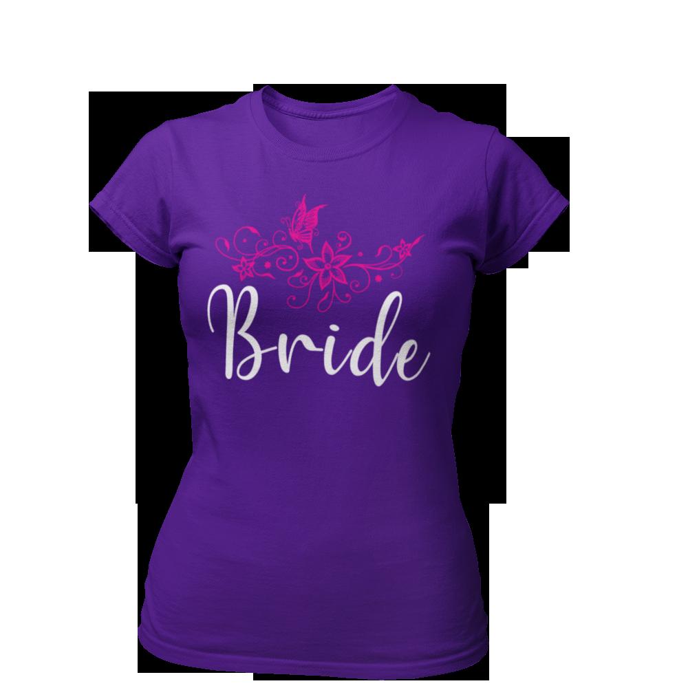 T-Shirt Bride Blumen