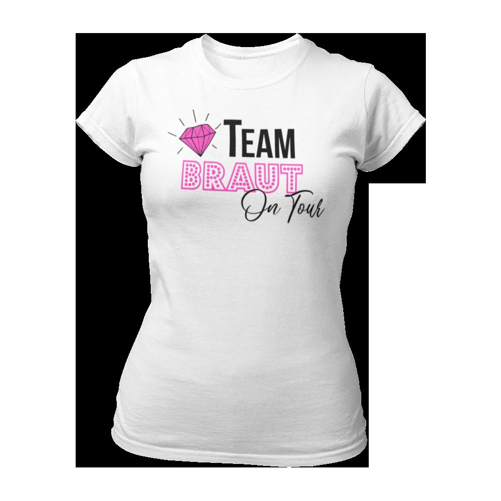 T-Shirt Team Braut on Tour