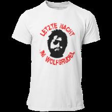 T-Shirt Letzte Nacht im Wolfsrudel